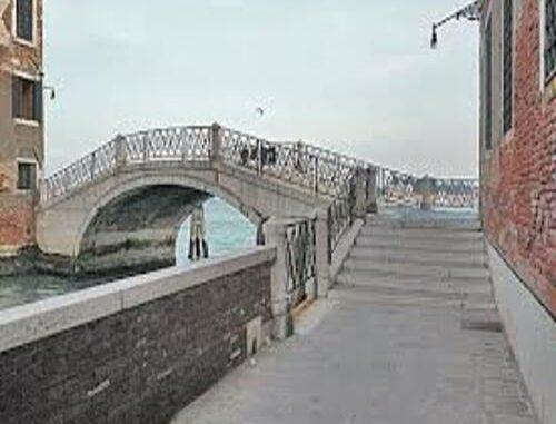 Una fotografia del Ponte dei Mendicanti a Venezia