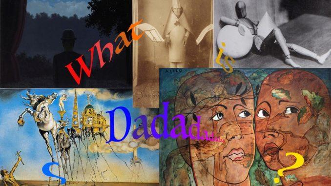 Dada art, work by school pupils, Alzani Gabriele