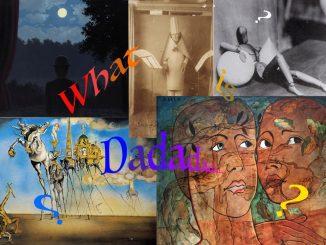 Dada, lavoro artistico realizzato da studenti istituto comprensivo Segrate, Alzani Gabriele
