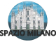Milano dopo covid sulla rubrica Spazio Milano di Fyinpaper, logo con scritta e disegno del Duomo di Milano