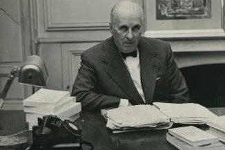 Translating literature into French, portrait of publisher Gaston Gallimard