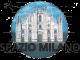 logo della rubrica Spazio Milano con l'immagine della facciata del Duomo e la scritta Spazio Milano in nero