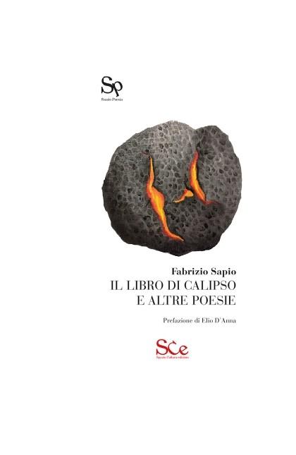 """copertina di colore bianco del libro """"Il libro di Calipso e altre storie"""" di Fabrizio Sapio"""